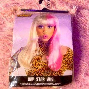 Pink & Blonde cosplay Wig
